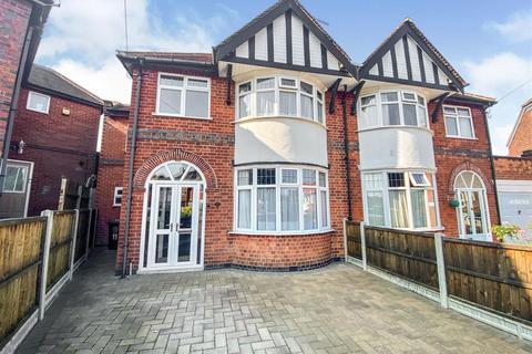 4 bedroom semi-detached house for sale - Oakthorpe Avenue, Western Park, Leicester