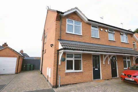 2 bedroom end of terrace house for sale - Old School Close, Glen Parva, Leicester