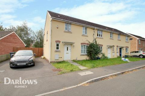 3 bedroom end of terrace house for sale - Jenkins Way, Cardiff