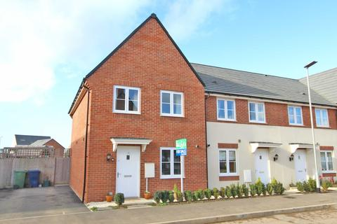 3 bedroom end of terrace house for sale - Huntlowe Close, Bishops Cleeve, Cheltenham, Gloucestershire, GL52