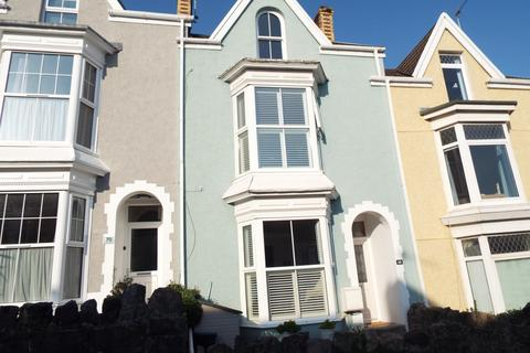 4 bedroom terraced house for sale - 68 Woodville Road, Mumbles, Swansea SA3 4AE