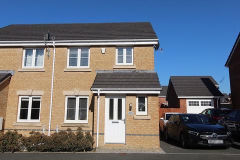 3 bedroom semi-detached house for sale - St. Llids Meadow, Llanharan, Pontyclun, Rhondda, Cynon, Taff. CF72 9FU