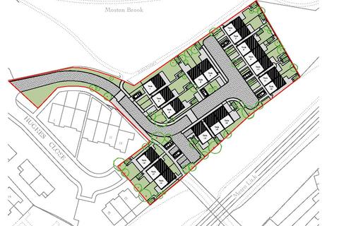 Land for sale - Land Off Hale Lane / Hughes Close, Hale Lane, Failsworth, Manchester, M35
