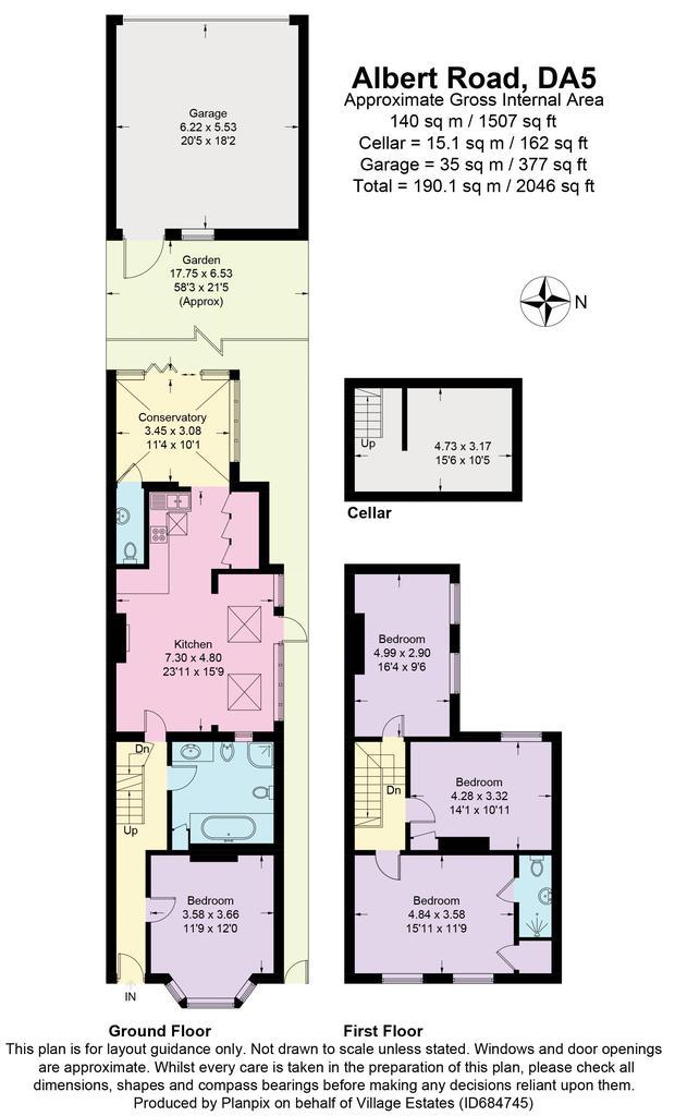 Floorplan: 68 Albert Road