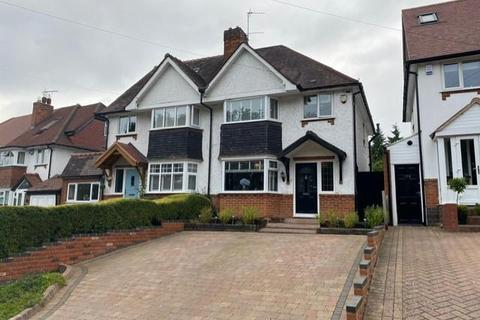 3 bedroom semi-detached house for sale - Widney Manor Road, Solihull, B91 3JW