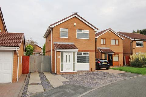 3 bedroom detached house for sale - Lockerbie Close, Warrington, WA2