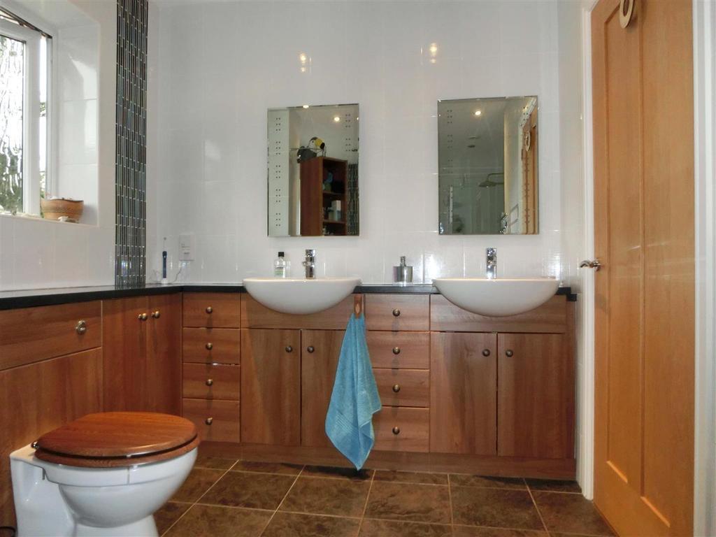Refitted luxury bathroom