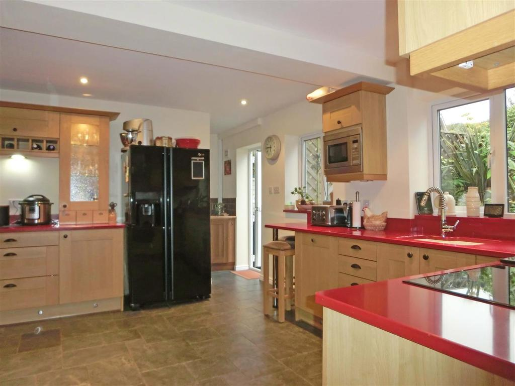 EXTENDED & REFITTED KITCHEN