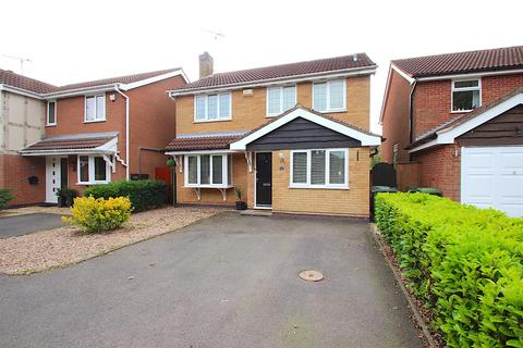 4 bedroom detached house for sale - Kingcup Close, Leicester Forest East