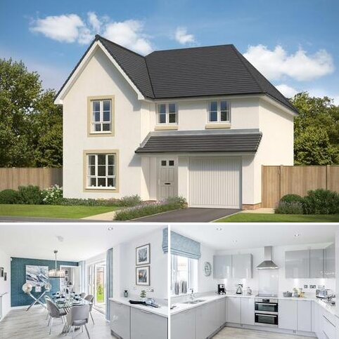 4 bedroom detached house for sale - Plot 21, Cullen at Wallace Fields - Phase 2, Auchinleck Road, Glasgow, GLASGOW G33