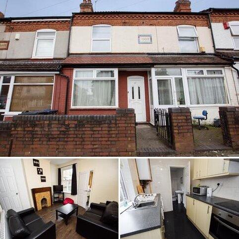 4 bedroom terraced house to rent - Milner Road, B29