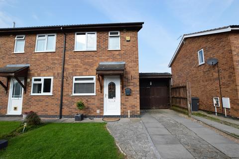 2 bedroom semi-detached house for sale - Bushnell Close, Broughton Astley, Leicester, LE9 6WD