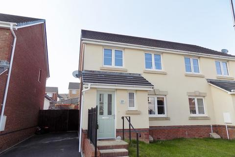 3 bedroom semi-detached house for sale - Clos Yr Eryr, Coity, Bridgend . CF35 6HE