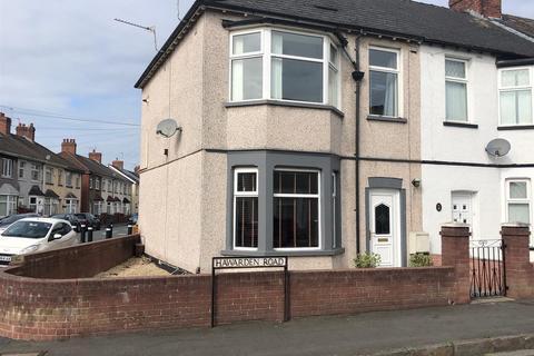 3 bedroom end of terrace house for sale - Hawarden Road, Newport
