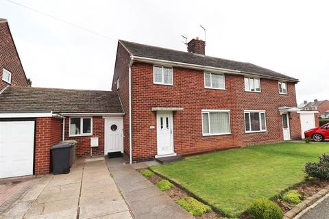 3 bedroom semi-detached house for sale - St. Lawrence Avenue, Bolsover, Chesterfield