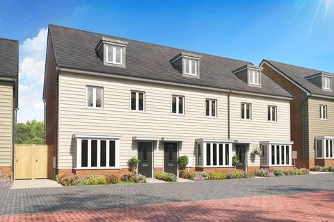 3 bedroom terraced house for sale - Plot 12, Kennett at Woburn Downs, Watling Street, Little Brickhill, MILTON KEYNES MK17
