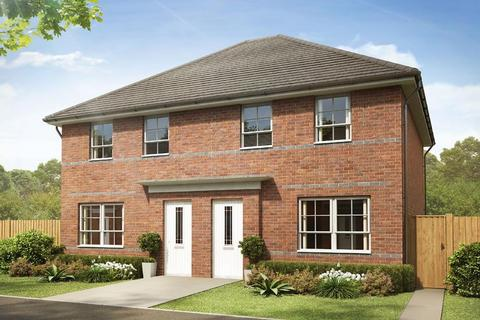 3 bedroom semi-detached house for sale - Plot 95, Maidstone at Holly Blue Meadows, Ruston Road, Burntwood, BURNTWOOD WS7