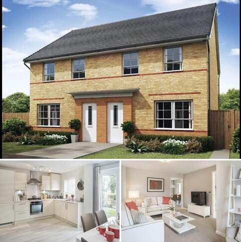3 bedroom terraced house for sale - Plot 96, Maidstone at Holly Blue Meadows, Ruston Road, Burntwood, BURNTWOOD WS7