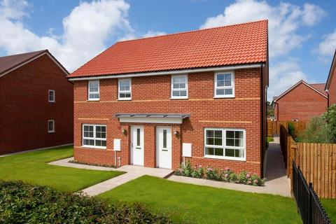 3 bedroom semi-detached house for sale - Plot 37, Maidstone at Queens Court, Voase Way (Access via Woodmansey Mile), Beverley, BEVERLEY HU17