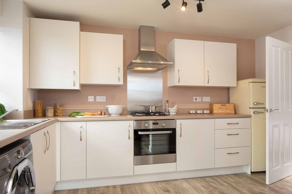 Morpeth internal kitchen, barratt homes, orchard green, kingsbrook