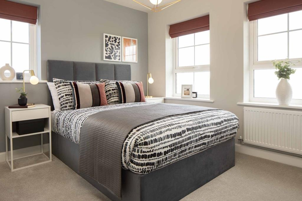 Morpeth internal bedroom 2, barratt homes, orchard green, kingsbrook