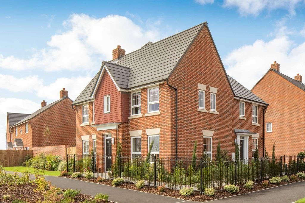 Morpeth External, Barratt Orchard Green Show home