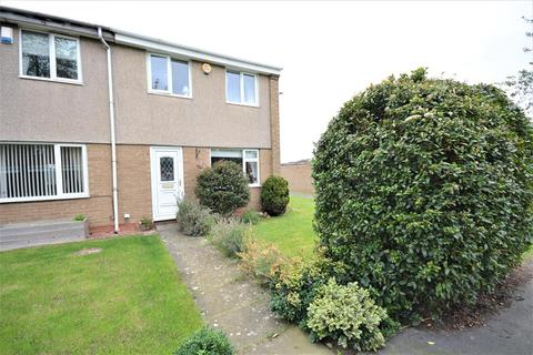 3 bedroom end of terrace house for sale - Harthope Grove, Bishop Auckland, DL14 0SQ
