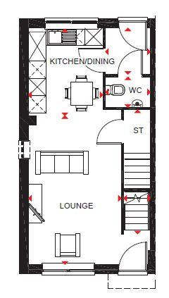Floorplan 1 of 2: Brookvale Ground Floor