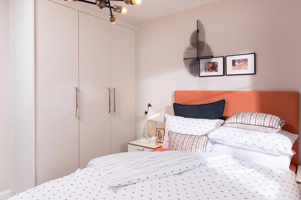 Poppy Fields Maidstone Show Home bedroom