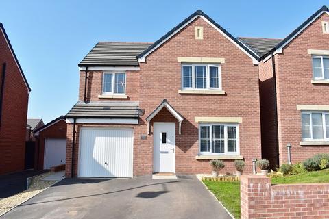 4 bedroom detached house for sale - Ffordd Y Cigfan, Coity, Bridgend. CF35 6FP