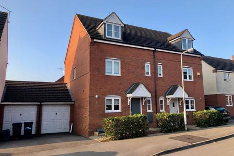 3 bedroom semi-detached house for sale - Milburn Drive, St Crispins, Northampton NN5 4UH