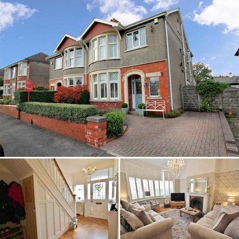 5 bedroom semi-detached house for sale - Jellicoe Gardens, Roath Park, CARDIFF