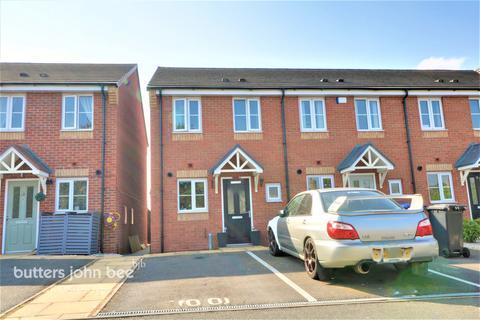 2 bedroom townhouse for sale - Rowhurst Crescent, Stoke-On-Trent