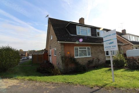 3 bedroom semi-detached house to rent - Hazel Drive, Woodley