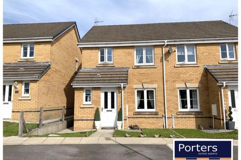 3 bedroom semi-detached house for sale - Clos Gwaith Brics Tondu Bridgend CF32 9GA
