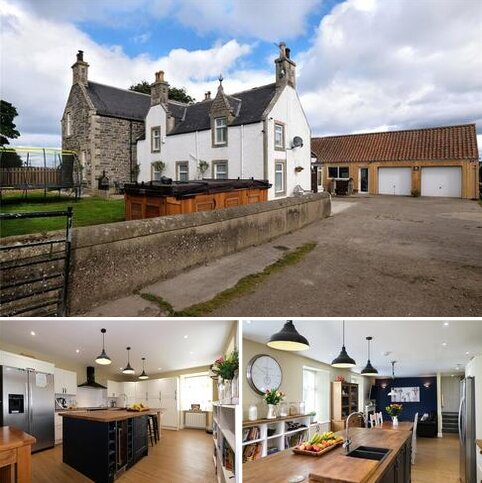 4 bedroom detached house for sale - The Old Farmhouse, Auchenhalrig, Spey Bay, Fochabers, Moray, IV32