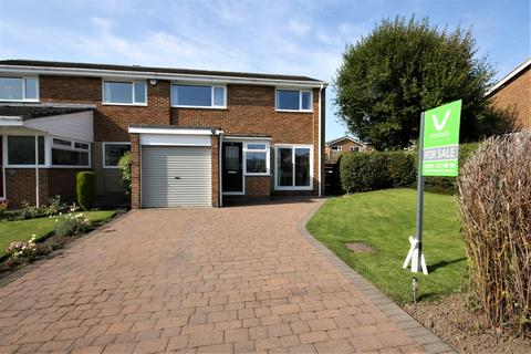 3 bedroom semi-detached house for sale - Chatton Close, Chester Le Street
