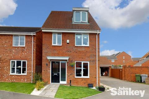 3 bedroom detached house for sale - Kerry Close, Clipstone Village, Mansfield