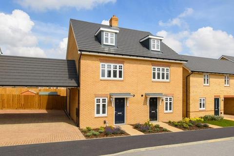 4 bedroom semi-detached house for sale - Plot 150, Queensville at Fairfields, Vespasian Road, Fairfields, MILTON KEYNES MK11