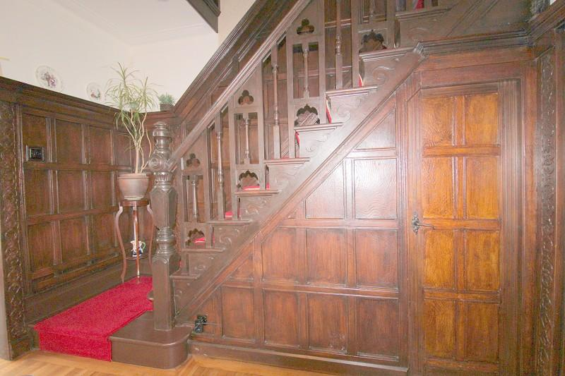 Stairs leading to first floor