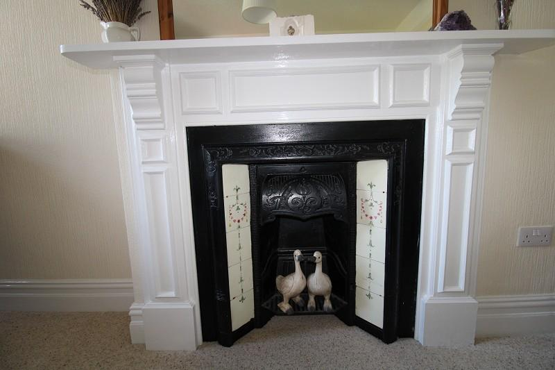Bedroom 2 feature fireplace