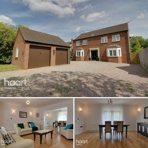 4 bedroom detached house for sale - Shaftesbury Avenue, March