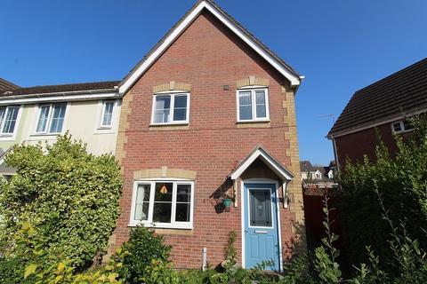 3 bedroom end of terrace house for sale - Cynllan Avenue, Llanharan, Pontyclun, Rhondda, Cynon, Taff. CF72 9UL