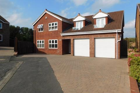 5 bedroom detached house for sale - GLENSTON CLOSE, NAISBERRY PARK, HARTLEPOOL