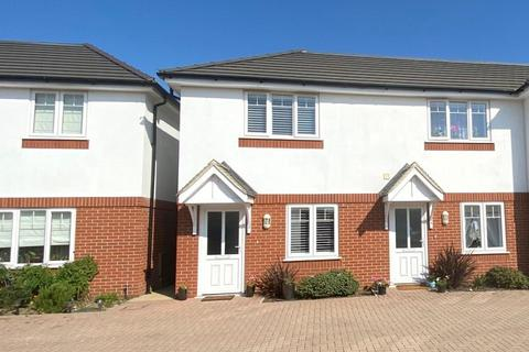 2 bedroom end of terrace house for sale - Catherine Close, Parkstone, Poole, BH12 3EF