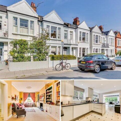 4 bedroom terraced house for sale - Hurlingham Road, London, SW6