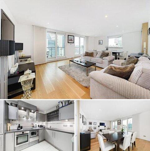 2 bedroom flat for sale - Bridge House, 18 St. George Wharf, London, SW8