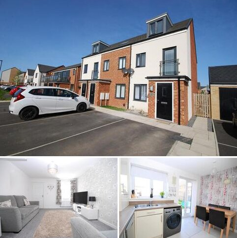 3 bedroom townhouse for sale - Orangetip Gardens, Great Park, Newcastle