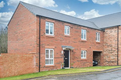 4 bedroom link detached house to rent - Wildfell Close, St Georges Wood, Morpeth, NE61