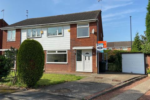 3 bedroom semi-detached house for sale - Hersham Close, Kingston Park, Newcastle Upon Tyne, NE3 2TW
